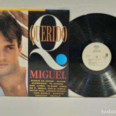 Discos de vinilo: MIGUEL BOSÉ QUERIDO MIGUEL LP 1993. Lote 251346100