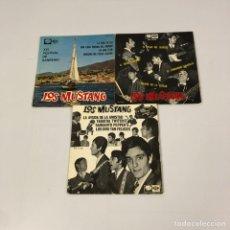 """Discos de vinilo: 3 EP 7"""" - LOS MUSTANG (1966-1967). Lote 251348015"""
