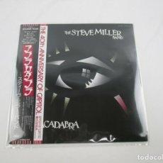Discos de vinilo: VINILO EDICIÓN JAPONESA DEL LP DE LA STEVE MILLER BAND - ABRACADABRA. Lote 251351585