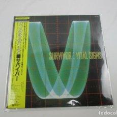 Discos de vinilo: VINILO EDICIÓN JAPONESA DEL LP DE SURVIVOR - VITAL SIGNS. Lote 251352100
