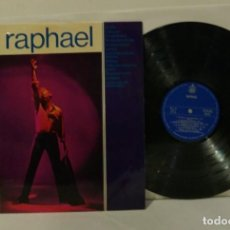 Discos de vinilo: RAPHAEL LP 1965 PRIMER LP DEL CANTANTE ORIGINAL SPAIN 1965 HISPAVOX UNA JOYA. Lote 251377920