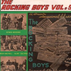 Discos de vinilo: THE ROCKING BOYS - VOLUMEN 5 / LP BELTER DE 1987 / MUY BUEN ESTADO RF-9387. Lote 251380205