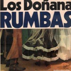 Discos de vinilo: LOS DOÑANA - RUMBAS / LP CBS DE 1985 / BUEN ESTADO RF-9389. Lote 251380645