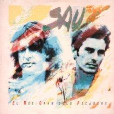 Disques de vinyle: SAU - EL MES GRAN DELS PECADORS / DOBLE LP EMI DE 1991 / BUEN ESTADO RF-9397. Lote 251382505