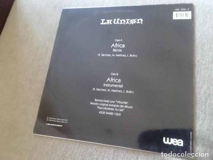 Discos de vinilo: La unión-África. Maxi - Foto 2 - 251383705