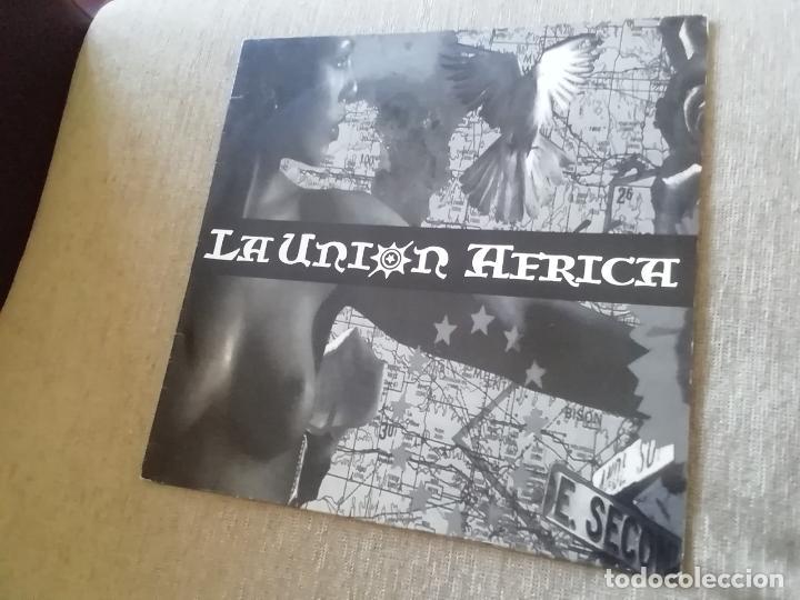 LA UNIÓN-ÁFRICA. MAXI (Música - Discos de Vinilo - Maxi Singles - Grupos Españoles de los 90 a la actualidad)
