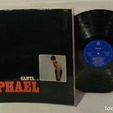 Discos de vinilo: RAFAEL CANTA DOBLE PORTADA LP 1966 ORIGINAL UNA JOYA. Lote 251387445