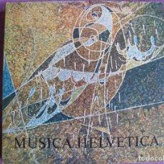 Discos de vinilo: LP - MUSICA HELVETICA - THE SWISS JAZZ SCENE, SOLOISTS AND BIG BANDS (DOBLE DISCO PROMOCIONAL 1977). Lote 251403125