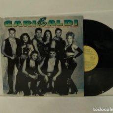 Discos de vinilo: GARIBALDI GRITOS DE GUERRA GRITOS DE AMOR LP 1993. Lote 251405280