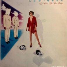 Discos de vinilo: LA BIONDA I WANNA BE YOUR LOVER. Lote 251439570