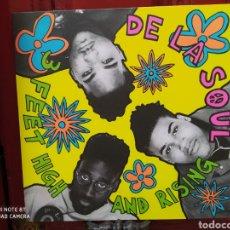 Discos de vinilo: DE LA SOUL -3 FEET HIGH AND RISING - LP VINILO NUEVO - HIP HOP -. Lote 271963628