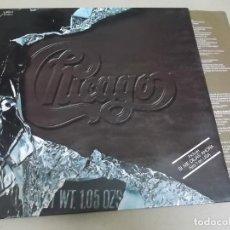 Discos de vinilo: CHICAGO (LP) CHICAGO X AÑO 1976 – PORTADA ABIERTA – ENCARTE CON LETRAS. Lote 251501045