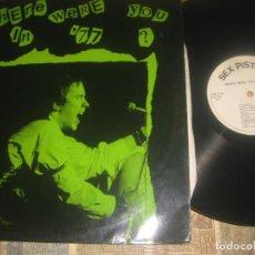 Discos de vinilo: SEX PISTOLS WHERE WERE YOU IN '77' -(1985 WARNER BROS) EDITADO ENGLAND. Lote 251506155