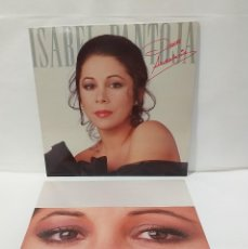 Discos de vinilo: ISABEL PANTOJA DESDE ANDALUCIA LP 1988 ENCARTE CON CANCIONES. Lote 251506215