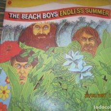 Discos de vinilo: THE BEACH BOYS - ENDLESS SUMMER DOBLE LP - EDICION U.S.A. - CAPITOL 1974 - GATEFOLD COVER -. Lote 251509070