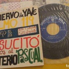Discos de vinil: KIKO ARGUELLO.SIERVO YAVE.SALMO 119.SALMO 13. EP PAX C-3094. 1967. Lote 251522075