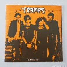 Discos de vinilo: EP THE CRAMPS - BLIND VISION - 2ND PRESS, 2000 - RARE CRAMPS ITEM!. Lote 251522390