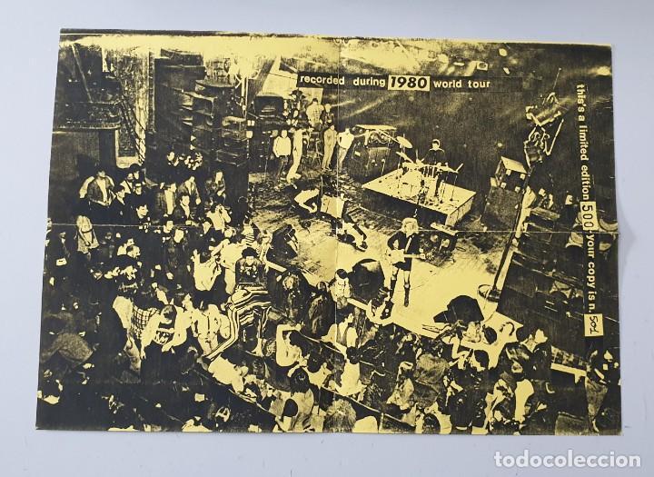 Discos de vinilo: EP THE CRAMPS LIVE E.P. - Limited 500 w/ insert! - ULTRA RARE CRAMPS ITEM!! - Foto 6 - 251526110