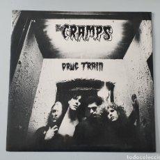 "Discos de vinilo: EP 12"" THE CRAMPS - DRUG TRAIN/+2. Lote 251539580"