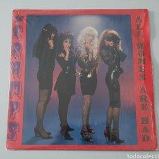 """Discos de vinilo: EP 12"""" THE CRAMPS - ALL WOMEN ARE BAD/+2 (UK - ENIGMA - 1990). Lote 251540910"""