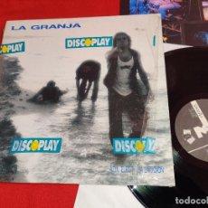 Dischi in vinile: LA GRANJA AZUL ELECTRICA EMOCION LP 1989 3CIPRESES MOVIDA POP MALLORCA. Lote 251542775