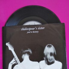 Dischi in vinile: SHAKESPEAR'S SISTER. YOU'RE HISTORY/ DIRTY MIND. 1989. Lote 251592290