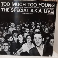 "Discos de vinilo: THE SPECIALS A.K.A. FEATURING RICO -TOO MUCH TOO YOUNG- (1980) EP 12"". Lote 251610305"