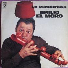 Disques de vinyle: LP - EMILIO EL MORO - LA DEMOCRACIA (SPAIN, DISCOPHON 1976). Lote 251633310