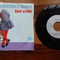 Discos de vinilo: LOURDES AMOR - QUE ROLLO / COCO LOCO - ARIOLA 1983. Lote 251654160