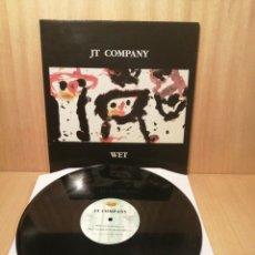 Discos de vinilo: JT COMPANY. WET. MAXI 45 RPM.. Lote 251669210