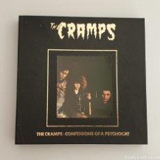 Discos de vinilo: THE CRAMPS BOX SET - CONFESSIONS OF A PSYCHOCAT - ULTRA RARE CRAMPS ITEM!!. Lote 251679595