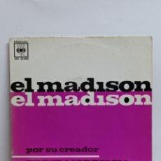 Disques de vinyle: EDDIE MORRISON, THE MAFISON TIME +3 (CBS 1962). Lote 251683095