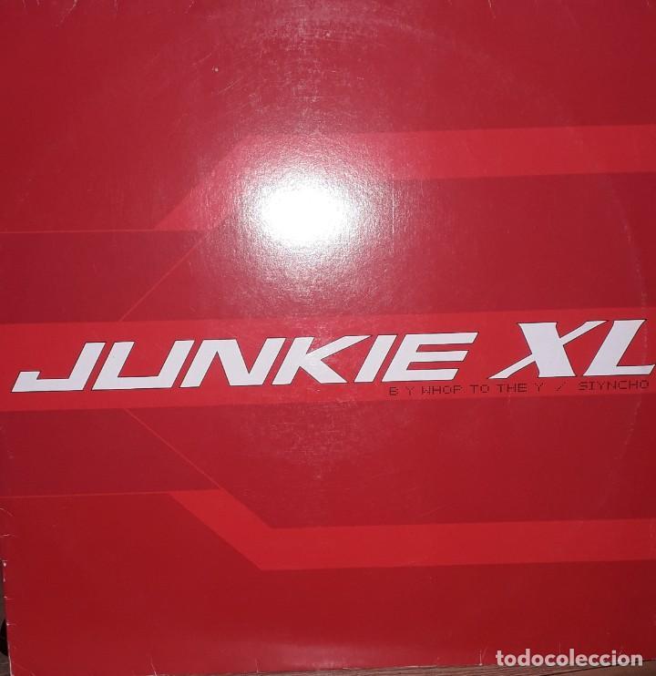 """SINGLE 12"""" - JUNKIE XL """"B Y WJOP TO THE Y // SIYNCHO (2001) (Música - Discos - Singles Vinilo - Techno, Trance y House)"""