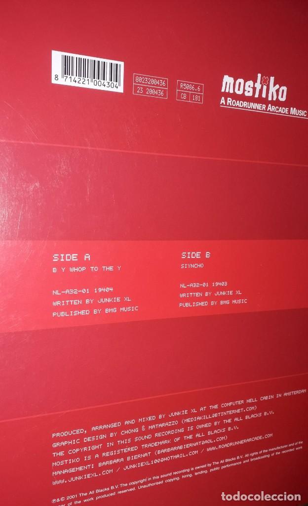 """Discos de vinilo: SINGLE 12"""" - JUNKIE XL """"B Y WJOP TO THE Y // SIYNCHO (2001) - Foto 2 - 251690400"""