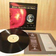 Discos de vinilo: AFRIKA BAMBAATAA + FAMILY. THE LIGHT.. Lote 251694415