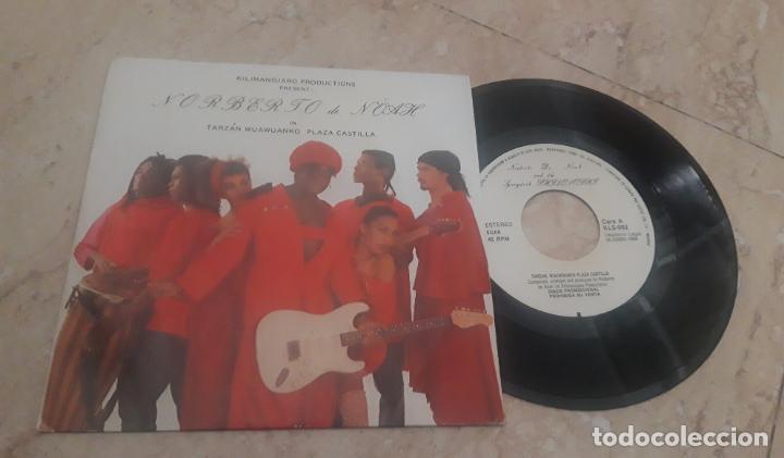 NORBERTO DE NÖAH – TARZÁN WUAWUANKO PLAZA CASTILLA -PROMOCIONAL -ESPAÑA--1988- COMO NUEVO (Música - Discos - Singles Vinilo - Étnicas y Músicas del Mundo)