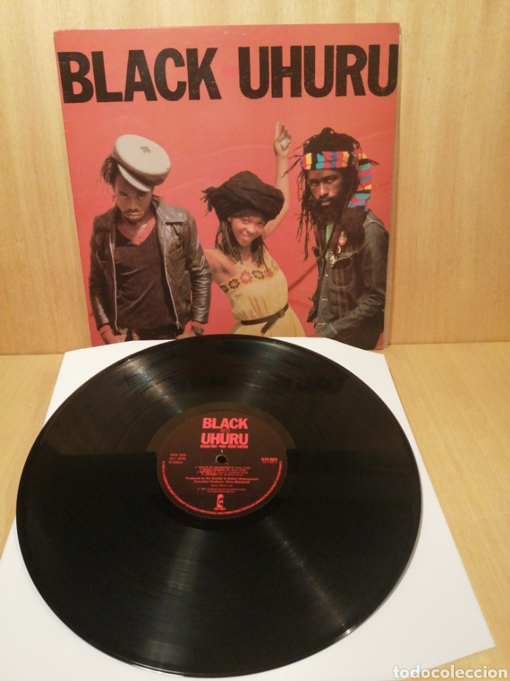 BLACK UHURU. RED. EDICIÓN UK. (Música - Discos - LP Vinilo - Reggae - Ska)