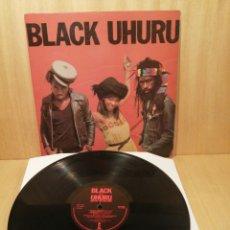 Discos de vinilo: BLACK UHURU. RED. EDICIÓN UK.. Lote 251697165