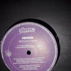 "Discos de vinilo: MAXI SINGLE 12"" - PAPACHA ""BENIMUSSA"" (TRIBAL HOUSE 2002). Lote 251699780"