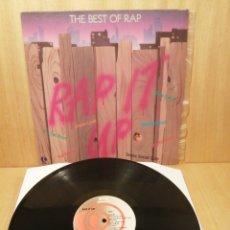 Discos de vinilo: RAP IT UP. TIMES SOCIAL CLUB. RUM-D.M.C. BEASTIE BOYS. ETC. EDICIÓN USA. Lote 251700655