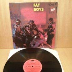 Discos de vinilo: FAT BOYS. COMING BACK HARD AGAIN.. Lote 251701715
