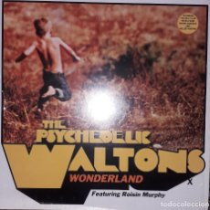 "Discos de vinilo: E.P. MAXI 12"" - THE PSYCHEDELIC WALTONS FEAT. ROISIN MURPHY - 'WONDERLAND' - (TRIBAL HOUSE 2001). Lote 251708050"