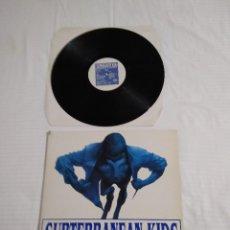 Discos de vinilo: SUBTERRANEAN KIDS / HASTA EL FINAL / LP PORTADA DOBLE 33 RPM / LA BOLA DE LA TORTUGA 1989. Lote 251725060