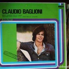 Dischi in vinile: CLAUDIO BAGLIONI - EN ESPAÑOL - RCA LINEA TRES 1977 SPAIN. Lote 251734460