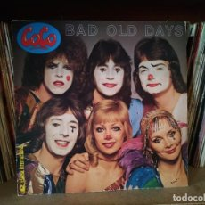 Discos de vinilo: COCO, BAD OLD DAYS. EUROVISIÓN. LP. Lote 251734860