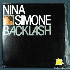 Disques de vinyle: LP DE NINA SIMONE: BACKLASH (1985). MOVIEPLAY PORTUGUESA, MUY BUEN ESTADO.. Lote 251744300