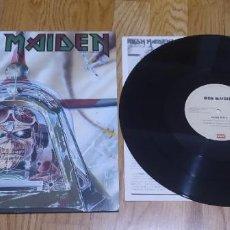 Discos de vinilo: VINILO IRON MAIDEN – ACES HIGH. EDICIÓN JAPONESA 1985.. Lote 251745055
