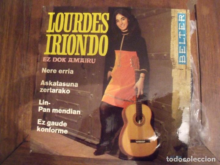 LOURDES IRIONDO EP BELTER 1968 NERE ERRIA + 3 (Música - Discos de Vinilo - EPs - Cantautores Españoles)