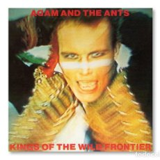 Discos de vinilo: ADAM AND THE ANTS - KINGS OF THE WILD FRONTIER - CBS - 1980. Lote 251779445