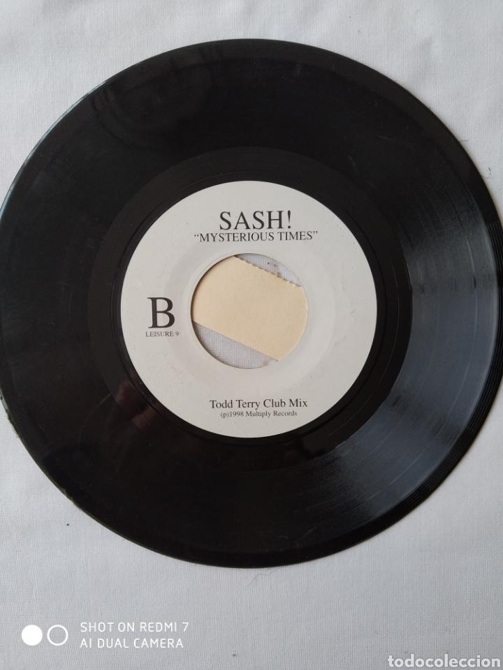 Discos de vinilo: Raro!! Sash, Mysterious times version jukebox Reino Unido VG - Foto 2 - 251779460